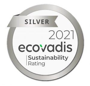 Medalla de plata ecovadis 2021 Innovative Film Solutions
